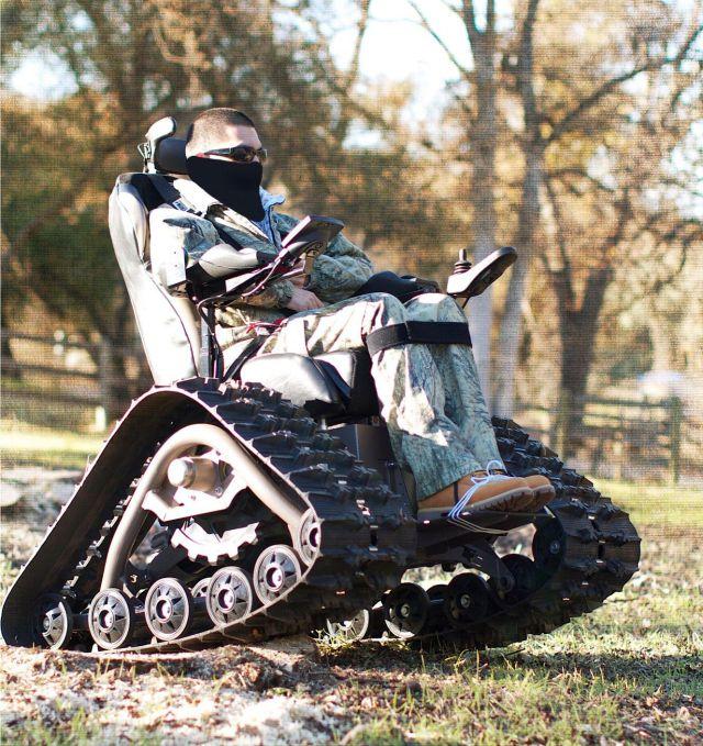 tank chair wheelchair childrens papasan off-road (14 pics) - izismile.com