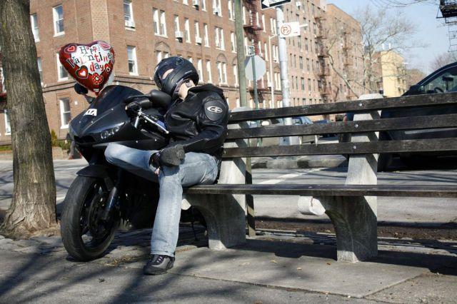 A Biker's Valentine's Day Date…