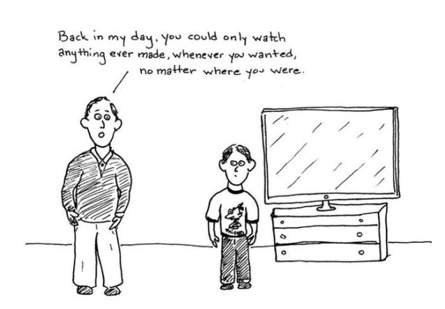 A Comic Strip on Sad But True Facts about the Internet (25