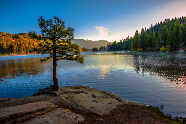 Hume Lake, Sequoia National Forest of Fresno County, California