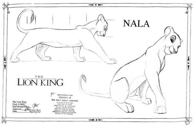 "The Original Concept Art of ""The Lion King"" (64 pics"