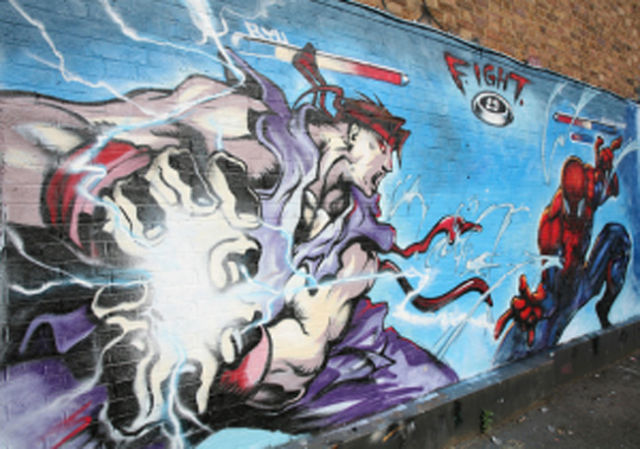 Super Cool Wallpapers For Girls Cool Video Game Styled Street Art 23 Pics Izismile Com