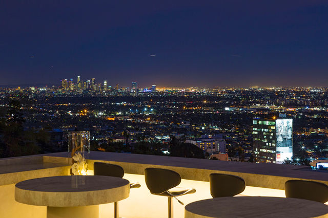 A Luxury Beverly Hills Mansion with Awesome Views of the
