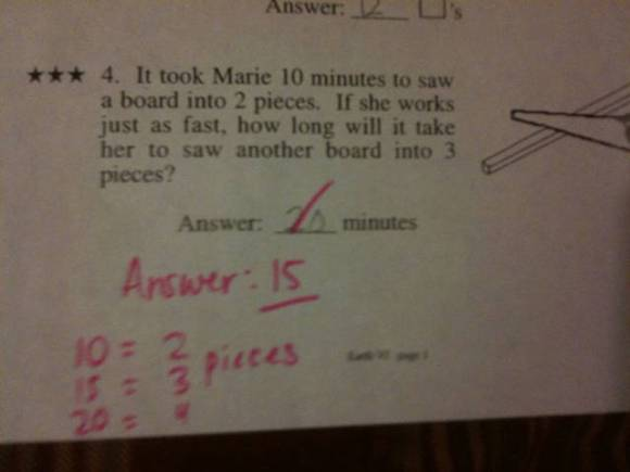Math Is Really Hard For Some People