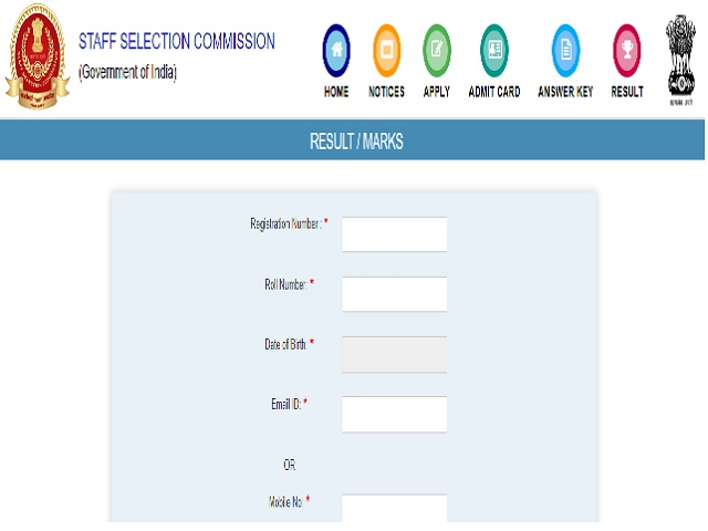 SSC CGL 2018 Final Marks Released @ssc.nic.in for 12929 Vacancies, Check Easy Steps to Download here