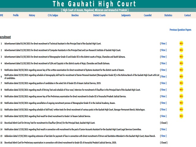 High court of Guahati image