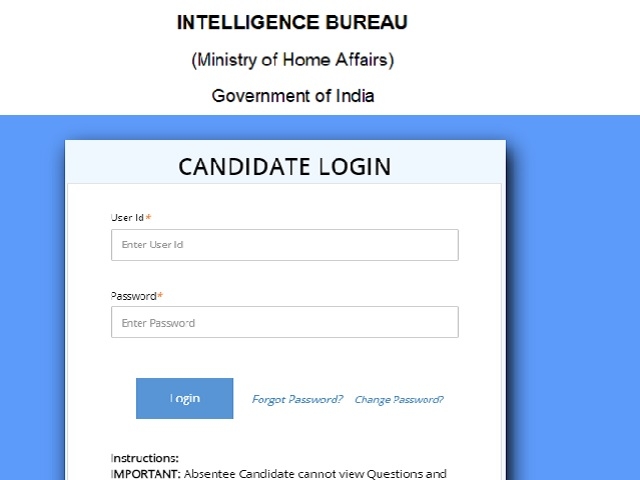 Intelligence Bureau ACIO Tier I Result 2021 Out @mha.gov.in, Check List of Qualified Candidates