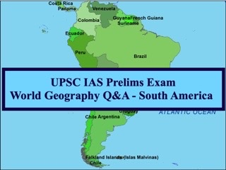 UPSC IAS Prelims 2021: Important Questions on World Geography