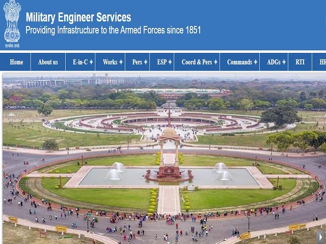 500+ Vacancies for Draughtsman and Supervisor Posts Across India, Check Military Engineer Services Updates @mes.gov.in