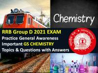 Practice Important General Science (GS) Chemistry Topics & Questions to Score High Marks in Computer Based Test (CBT)