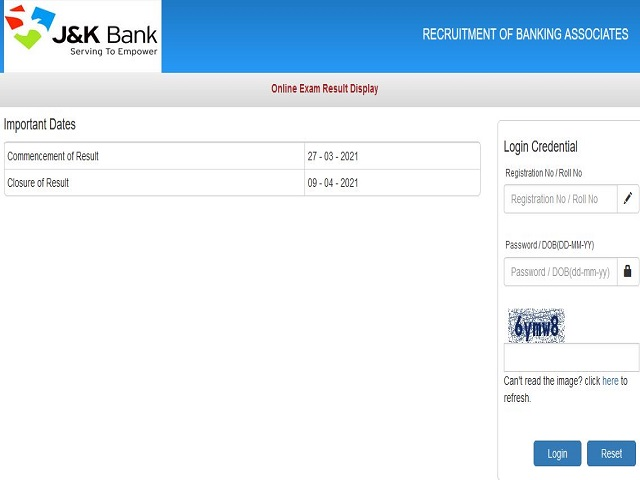 Check IBPS Result Download Link Here