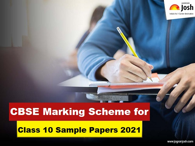 CBSE Marking Schemes for Class 10 Sample Papers 2021