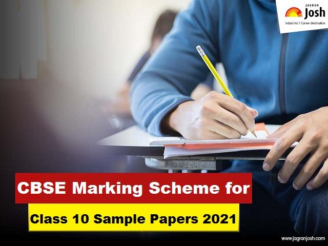 class10 marking scheme 2021