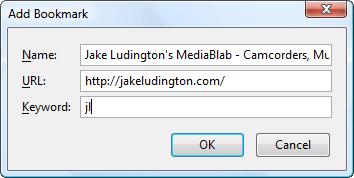 Add a Bookmark in Firefox