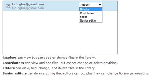 Permission Based File Sharing