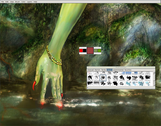 MyPaint Digital Painting Software