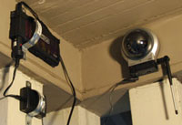 Solar Powered Wireless Home Security Camera