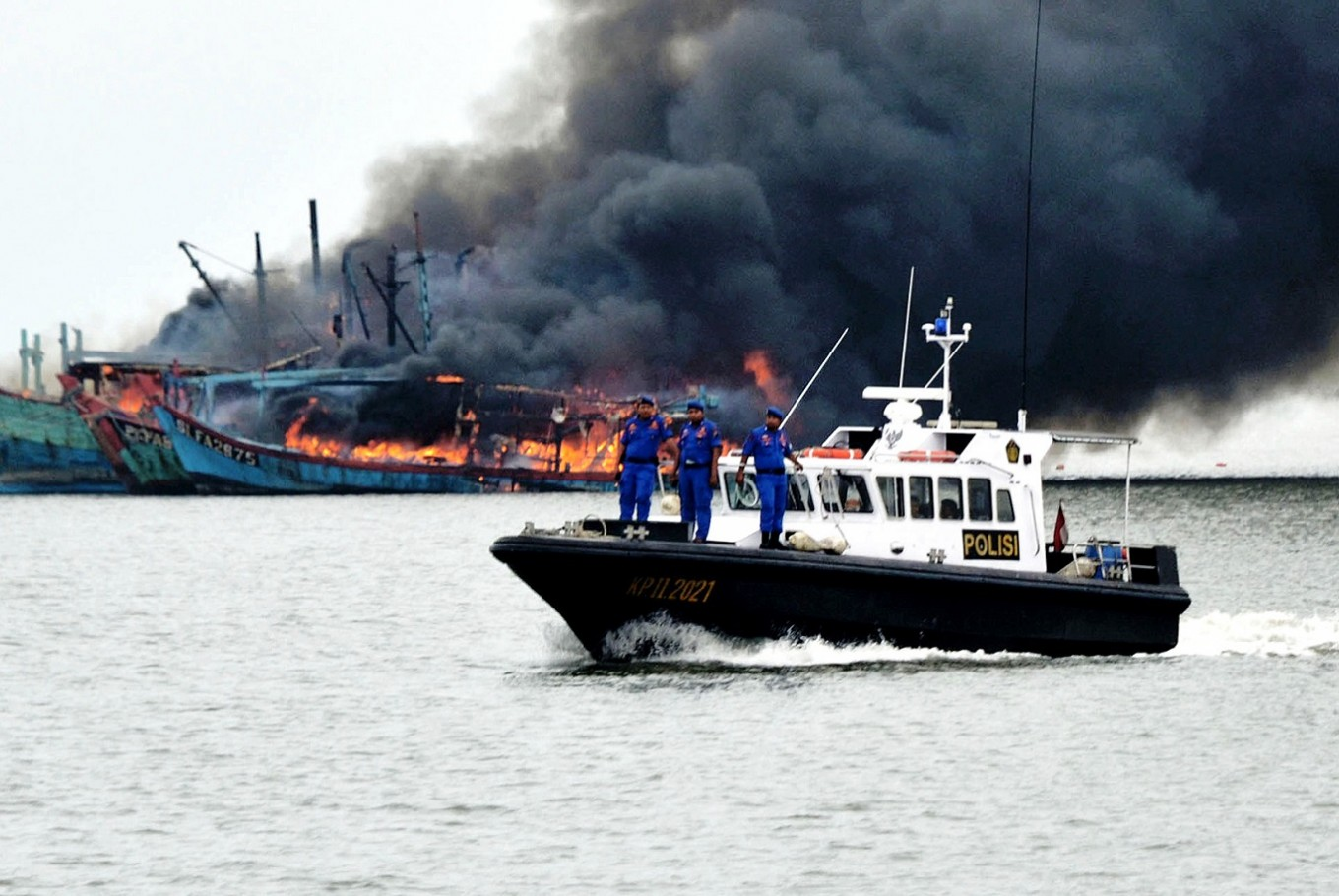 Minister Susi Declares Ship Sinking Policy Success