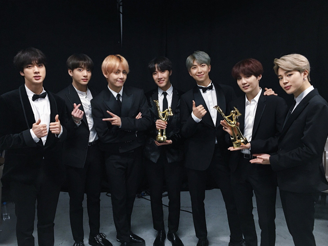 bts shares the honor