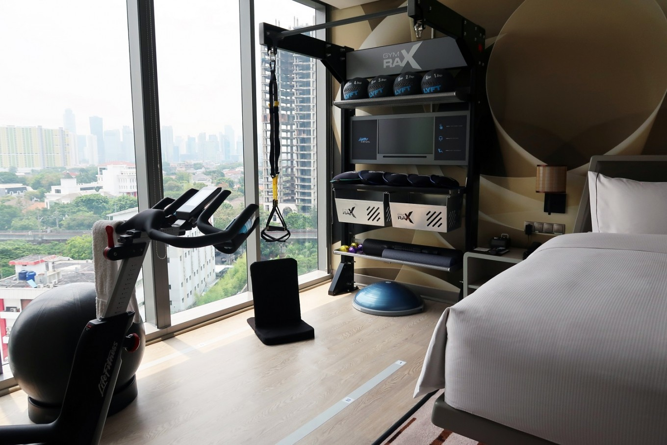 Feeling Lazy Jakarta Hotel Offers Fitness Equipment In Rooms News The Jakarta Post
