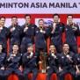 Indonesia S Men S Badminton Team Pulls Off Asia Team