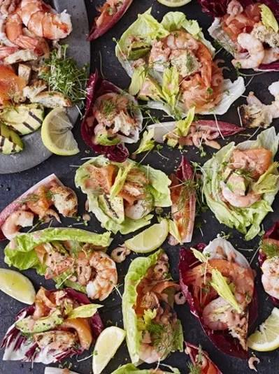 Seafood Christmas Food Ideas : seafood, christmas, ideas, Bloody, Seafood, Platter, Recipes, Jamie, Oliver