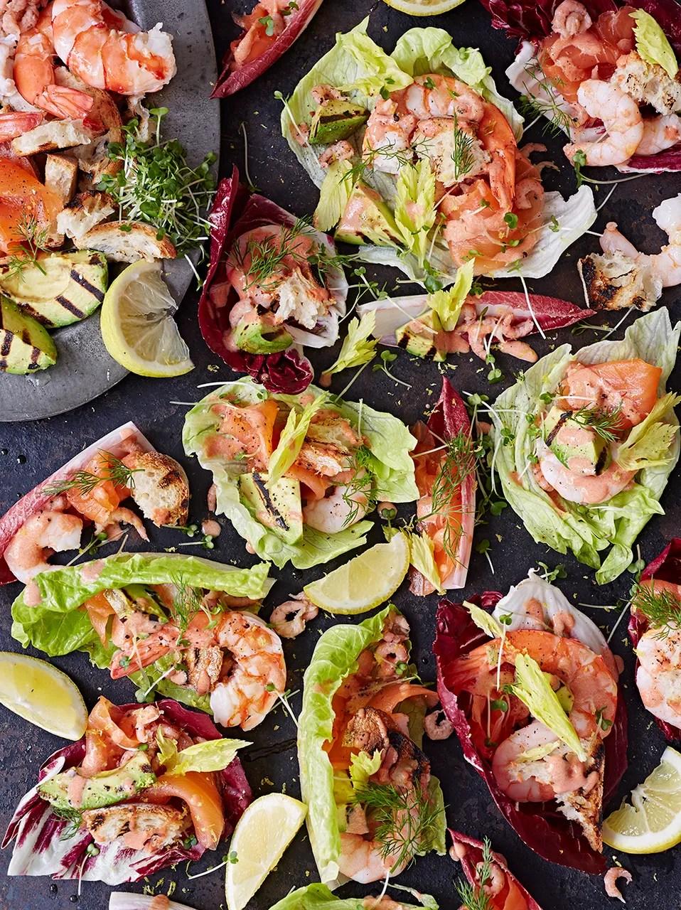 Christmas Seafood Platter Recipes : christmas, seafood, platter, recipes, Bloody, Seafood, Platter, Recipes, Jamie, Oliver