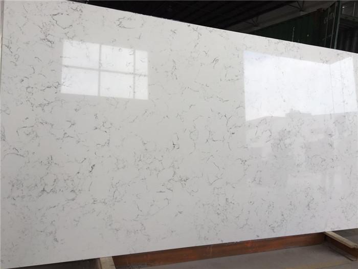 Carrara White Quartz Countertop Engineered Quartz Manufacturer  Hangmao Stone