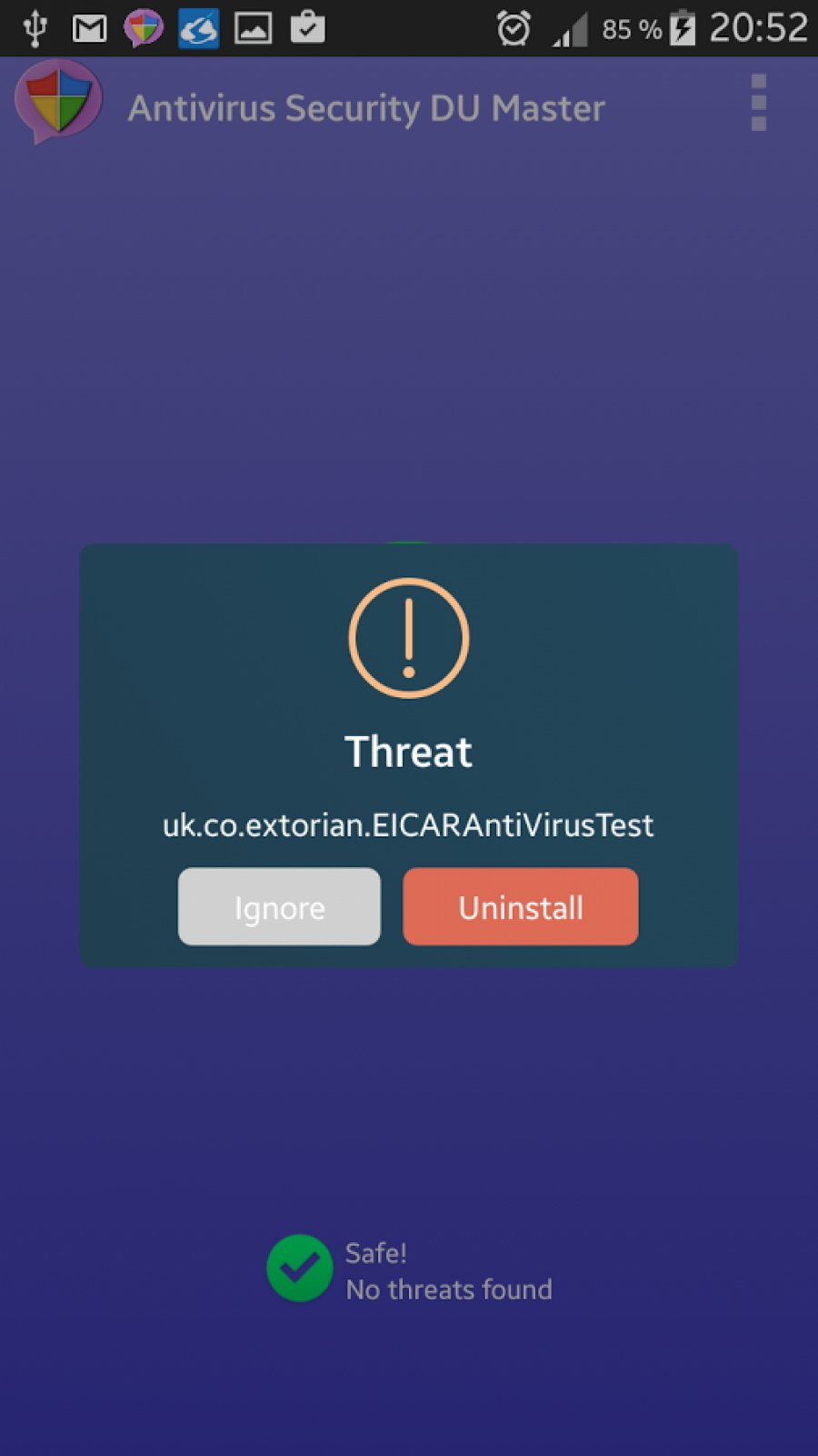 Antivirus Security Master Android App APK (com.du.master.antivirus.security.android) by Du Master - Download on PHONEKY