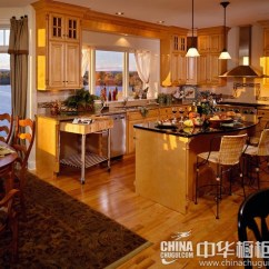 Moveable Kitchen Island Appliance Packages Lowes 可移动的厨房滑动岛台橱柜设计 家居装修设计网