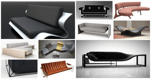 沙發設計作品