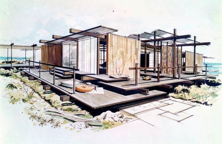 021建築設計師手稿作品