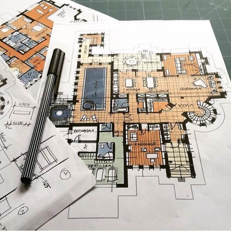 024建築設計師手稿作品