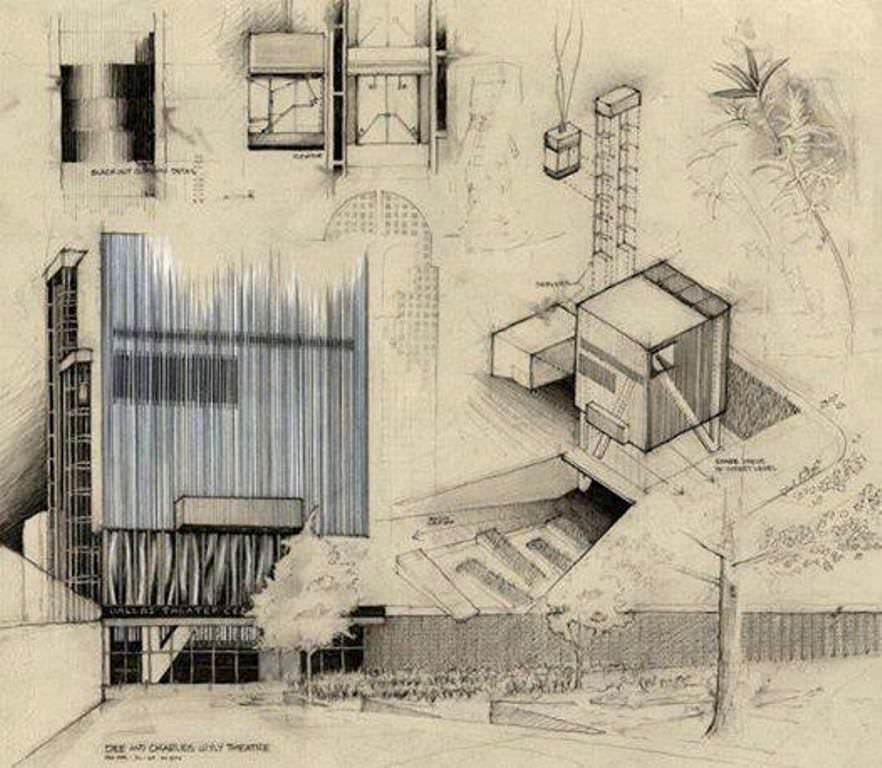033建築設計師手稿作品