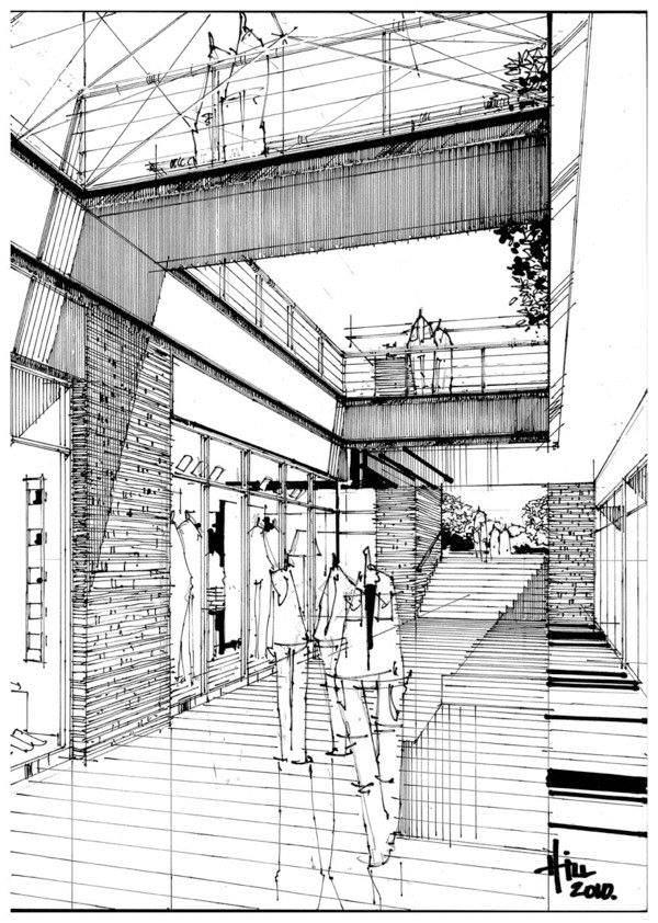 060建築設計師手稿作品