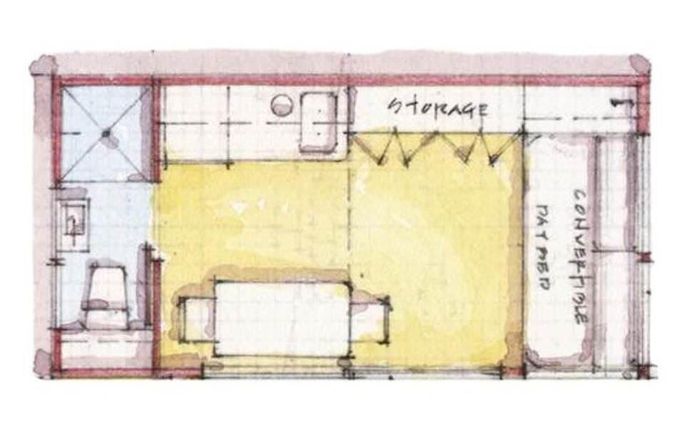 170建築設計師手稿作品