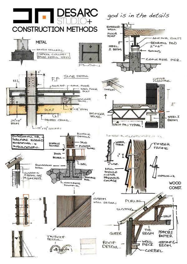 313建築設計師手稿作品