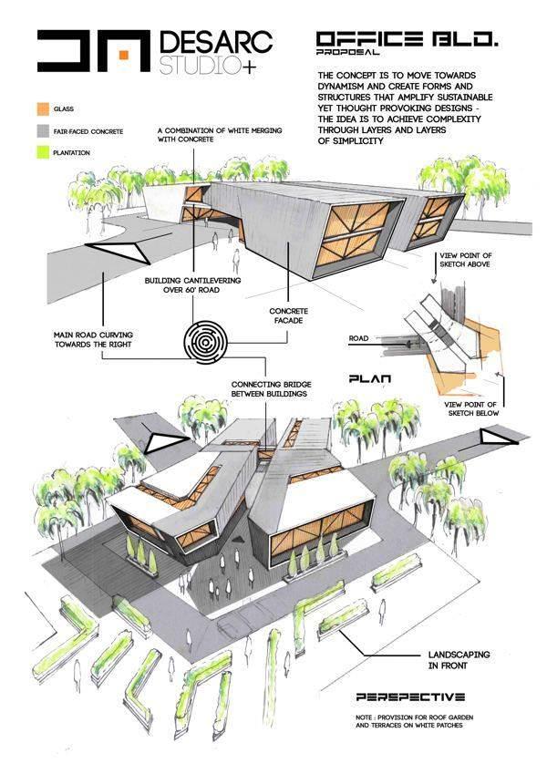 317建築設計師手稿作品