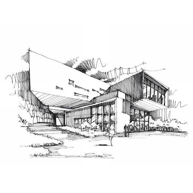 332建築設計師手稿作品