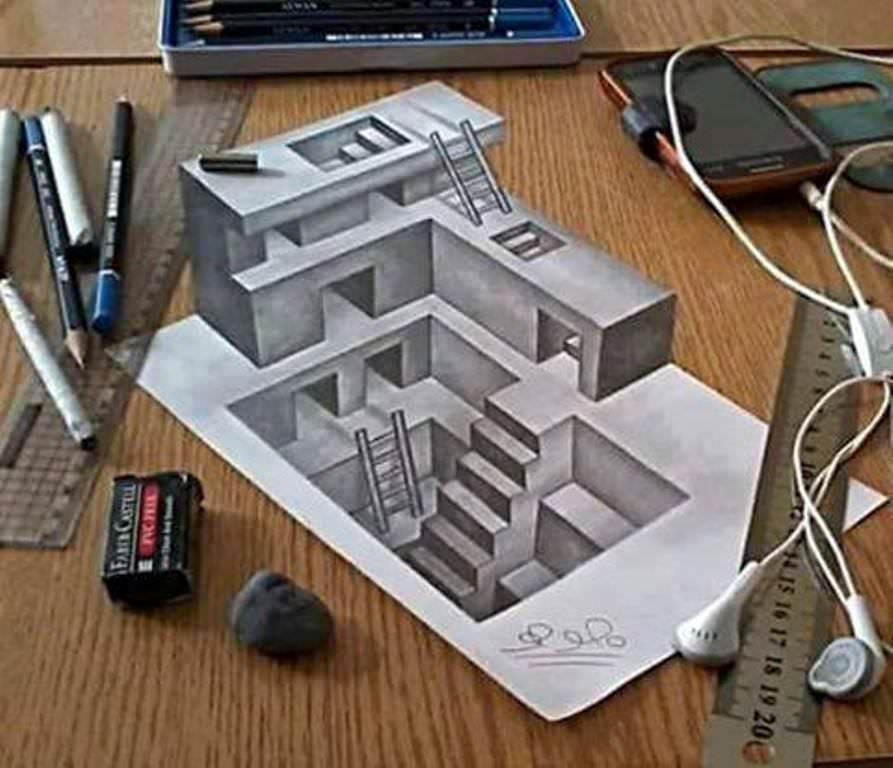 354建築設計師手稿作品