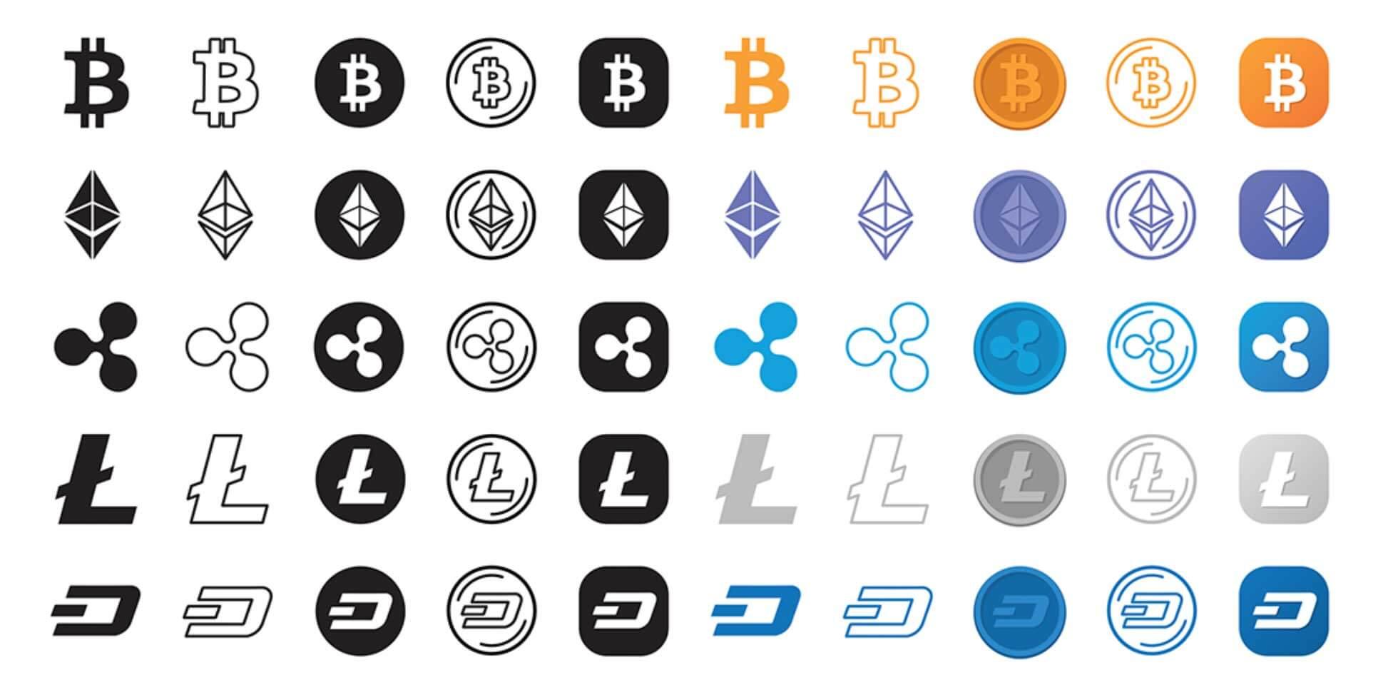 比特幣虛擬貨幣icon圖示下載