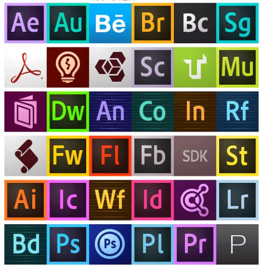 Adobe cc icon