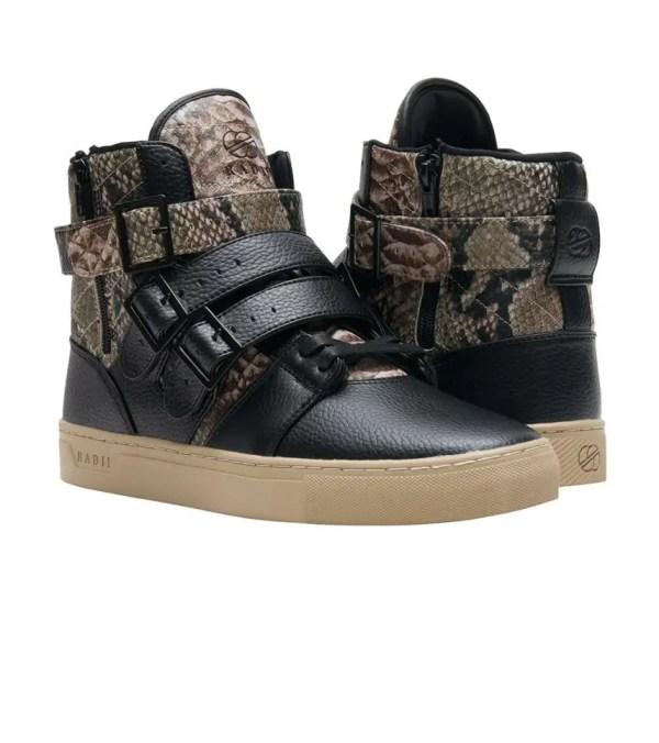 Radii Straight Jacket Sneaker Black - Fm1037-snk Jimmy