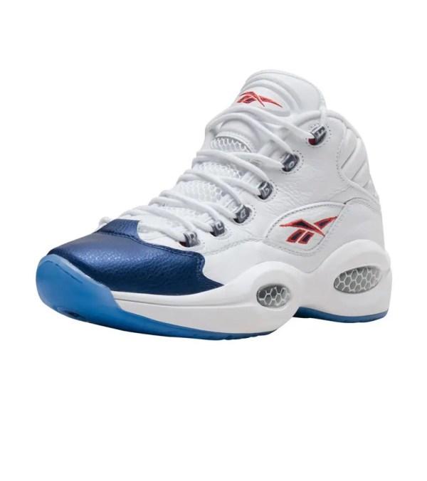 Reebok Question Mid Sneaker White - J82534 Jimmy Jazz