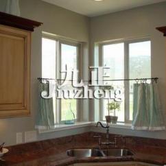 Kitchen Window Coverings Island Wheels 厨房用什么窗帘好 厨房窗帘怎么挂 装修知识 九正家居网 厨房窗帘
