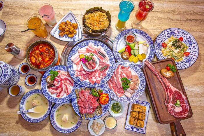 台中南屯,墨妃家燒肉~宮庭風mix夜店風,燒肉新風潮。