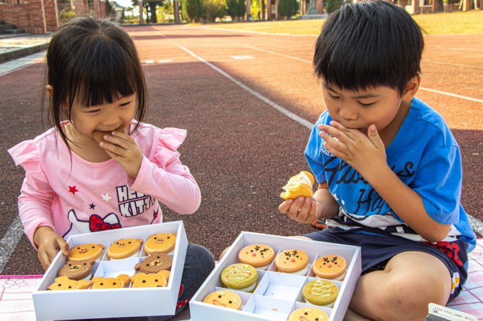 卷卷烘焙,地表最強生乳銅鑼燒聖誕限定加上焦糖草莓奶蛋糕,讓孩子開心野餐享歡樂。