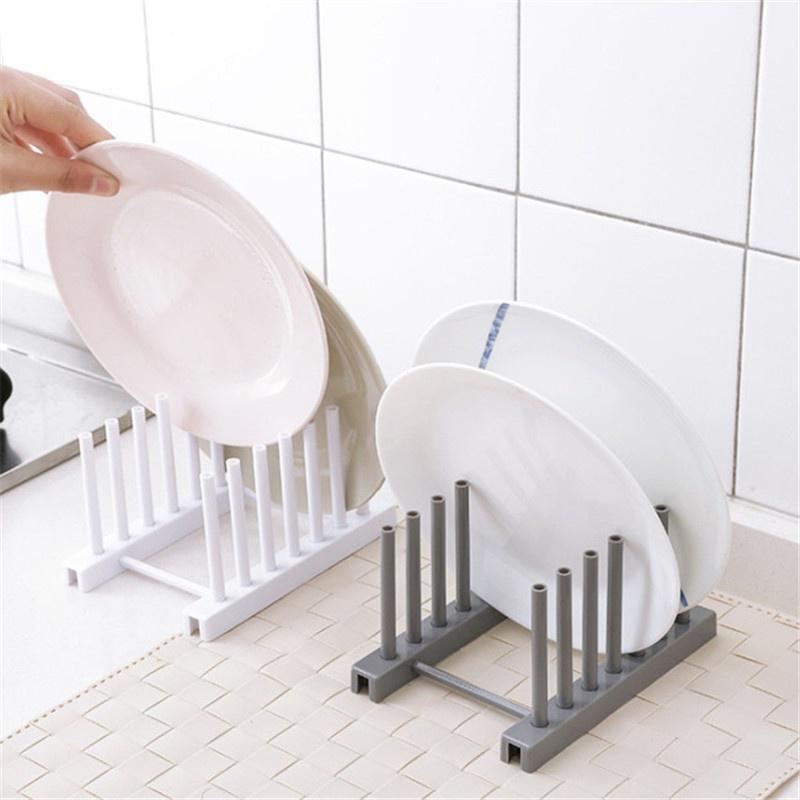 kitchen dish rack stand holder bowl drainer plate organizer tableware drying rack