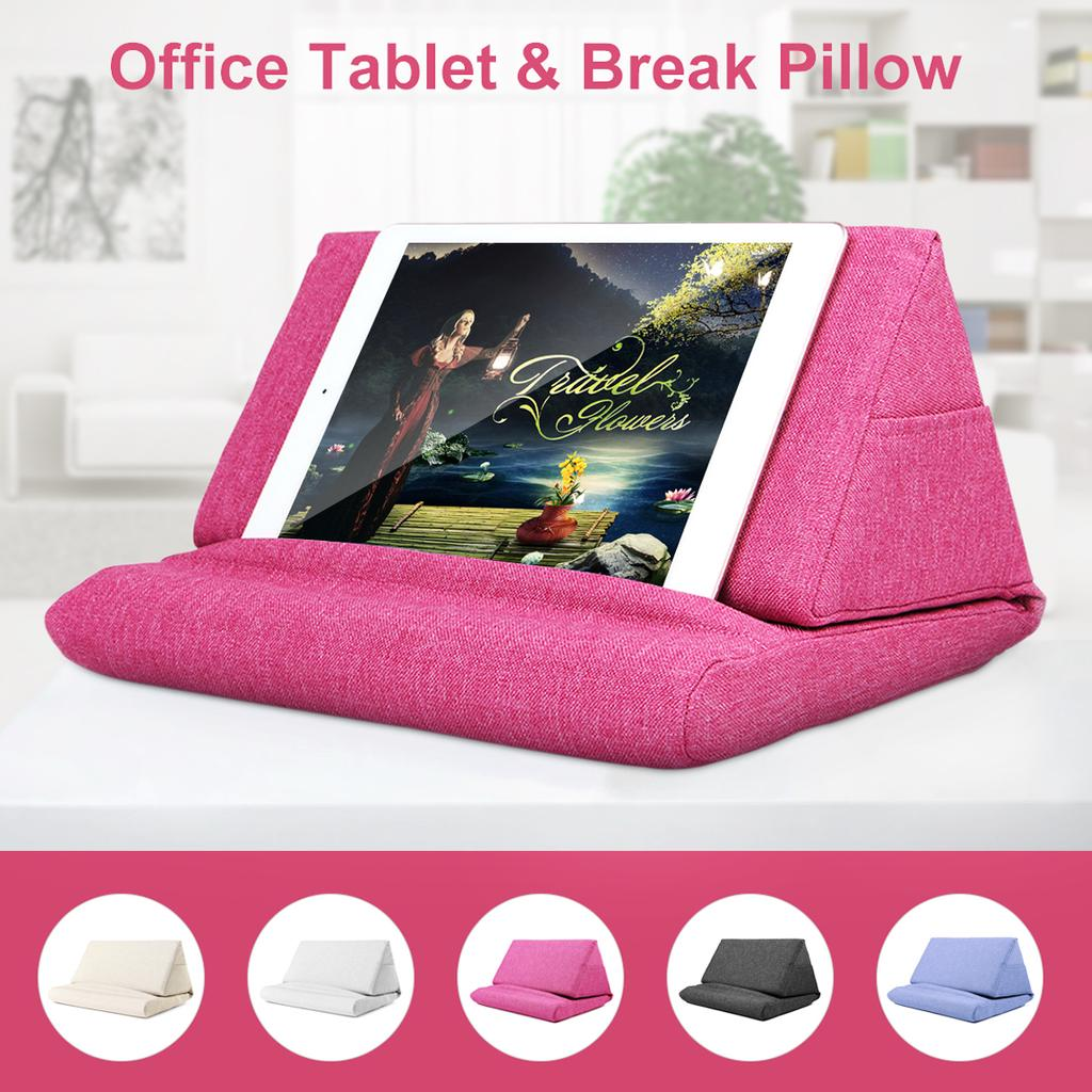 laptop tablet pillow foam lapdesk cooling tablet stand holder stand rest cushion for ipad with bag