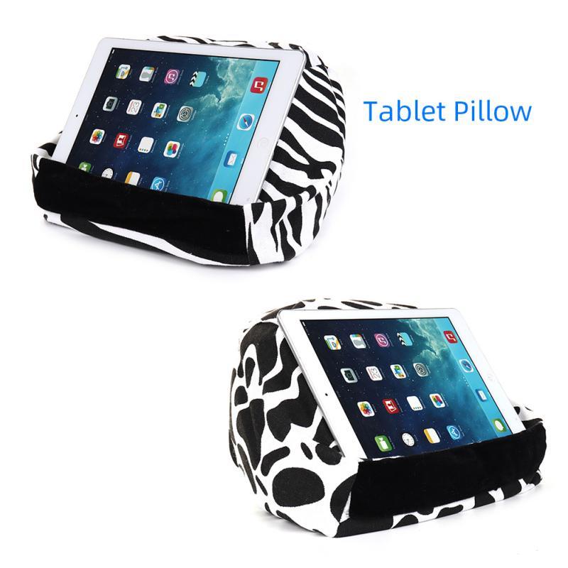 confortable universal pillow tablet stand holder for smartphones for tablets for ereaders